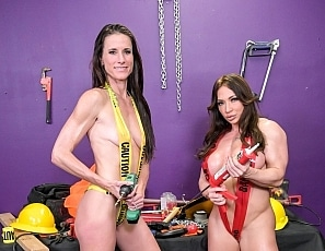 SofieMarieXXX/Hard Work Construction Tape Duo