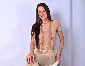 SofieMarieXXX/Sheer Nude Gold Chains